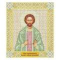 Чаривна Мить СБИ-047 Именная икона святой Иоанн Сочавский. Схема для вышивания бисером
