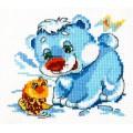 Чудесная игла 17-14 Белый медвежонок