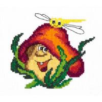 Чудесная игла 26-20 Весёлый грибочек