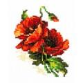 Чудесная игла 28-01 Красный мак