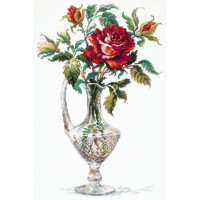 Чудесная игла 40-65 Красная роза