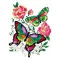 Чудесная игла 42-04 Бабочки и розы