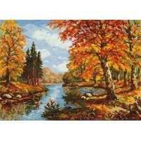 Чудесная игла 45-02 Золотая осень