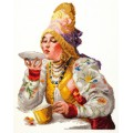 Чудесная игла 66-01                     Боярышня за чаем