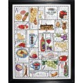 Design Works 2426 Gourmet ABC (Алфавит гурмана)