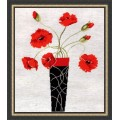 Design Works 2436 Poppies in Vase (Маки в вазе)