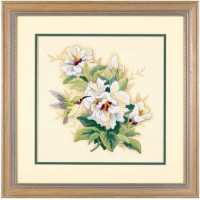 Dimensions 01544 Hibiscus Floral (Букет гибискуса)