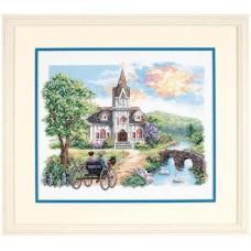 Набор для вышивания 03227 Country Church (Деревенская церковь)