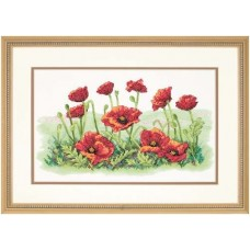 Набор для вышивания 03237 Field of Poppies (Маковое поле)