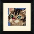 Dimensions 07206                 Cross-Eyed Kitty (Косоглазый котёнок)