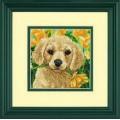 Dimensions 07231 Puppy Mischief (Щенок с цветком)