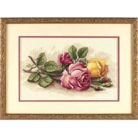 Dimensions 13720 Rose Cuttings (Срезанные розы)
