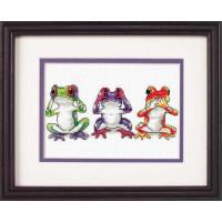 Dimensions 16758 Tree Frog Trio (Трио лягушек)