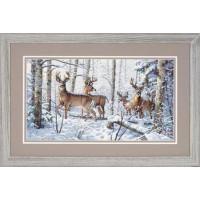 Dimensions 35130 Woodland Winter (Зима в лесу)