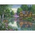 Dimensions 35183                 Cabin Fever ( Уютный коттедж)