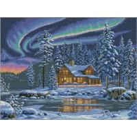 Dimensions 35212 Aurora Cabin (Северное сияние)