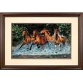 Dimensions 35214 Galloping Horses (Бегущие лошади)