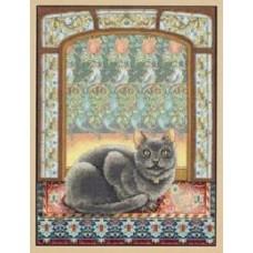 Dimensions 35226                 Cat in Window (Кошка на окошке)