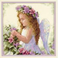 Dimensions 35229 Passion Flower Angel (Цветочный ангел)