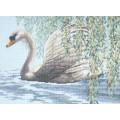 Dimensions 35231                 Willow Swan (Лебедь у ивы)