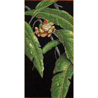 Dimensions 35251 Tree Frog Among Leaves (Древесная лягушка в листве)