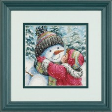 Dimensions 70-08833 A Kiss for Snowman (Поцелуй для снеговика)