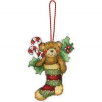 Dimensions 70-08894 Bear Ornament (Украшение Мишка)