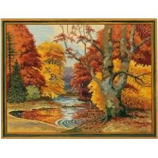 Набор для вышивания 12-496 Лесное озеро (Forest lake)