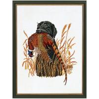 Eva Rosenstand 12-883 Охотничья собака с фазаном (Hunting Dog & Pheasant)
