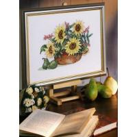 Eva Rosenstand 14-463 Подсолнухи в шаре (Sunflowers in bowl)