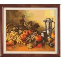 Гобелен Классик 1002 Натюрморт с персиками