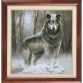 Гобелен Классик 1103 Сибирский волк