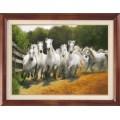 Гобелен Классик 1114 Бегущие лошади