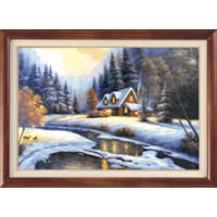 Гобелен Классик 327 Зимний пейзаж