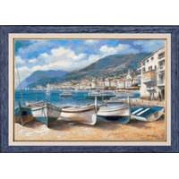 Гобелен Классик 408 Рыбацкие лодки