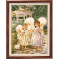 Гобелен Классик 707 Два ангела