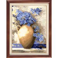 Гобелен Классик 906 Синие цветы