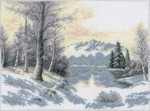 Hobby&Pro А644 Зимний пейзаж