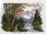 Hobby&Pro А648 Горный пейзаж