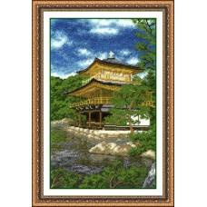 Набор для вышивания А681 Золотой павильон