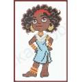 Искусница 194   Африканка-мировая девчонка