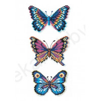 Искусница 232 Бабочки синие