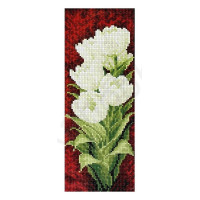 Искусница 527 Белые тюльпаны