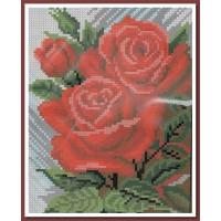 Искусница 539 Красные розы
