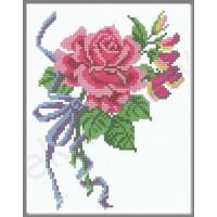 Искусница 546 Розовая роза