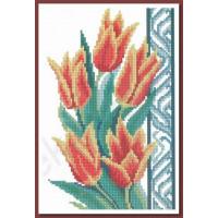 Искусница 548 Оранжевые тюльпаны