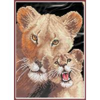 Искусница 609 Львица и львенок