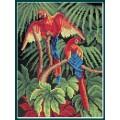 Искусница 634 Попугаи на ветках