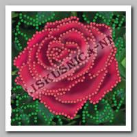 Искусница ББ-041 Красная роза