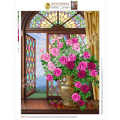 Искусница БЛ-602 Розы на витражном окне